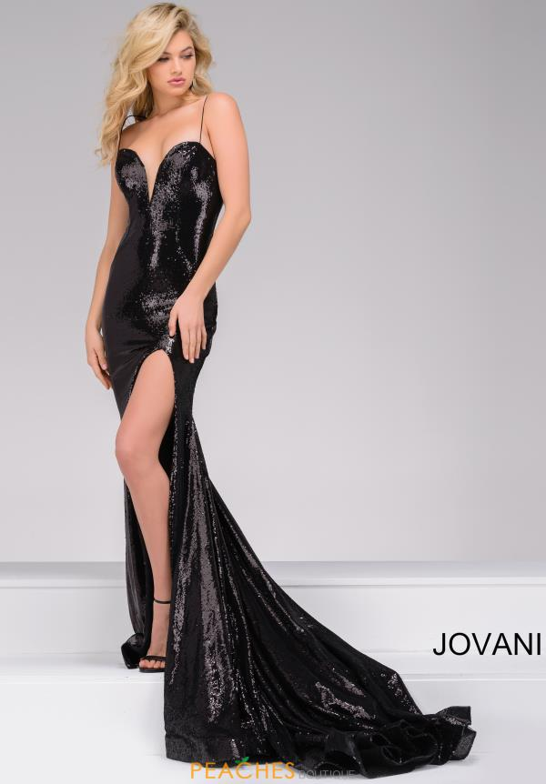 Jovani Long Sequins Fitted Dress 40436