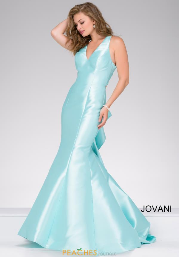 Jovani V- Neckline Mermaid Dress 40780