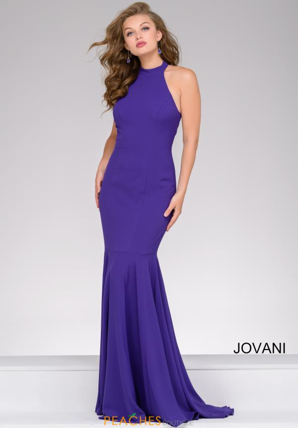 Long Fitted Jovani Dress 41077