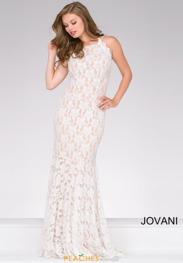 Jovani Long Lace Dress 41269