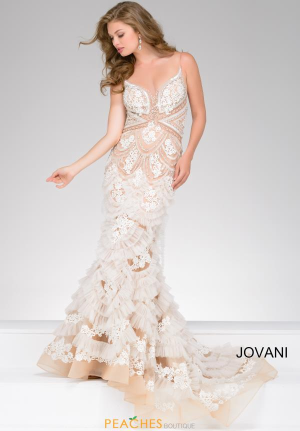 Jovani Long Fitted Dress 41592