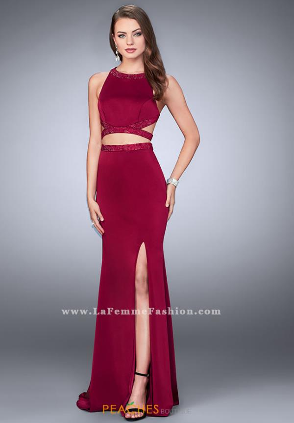 Gigi 23905 Two Piece Long Dress
