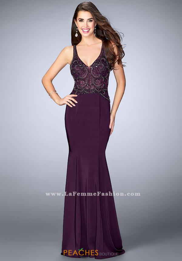 Gigi V-Neck Beaded Dress 23909
