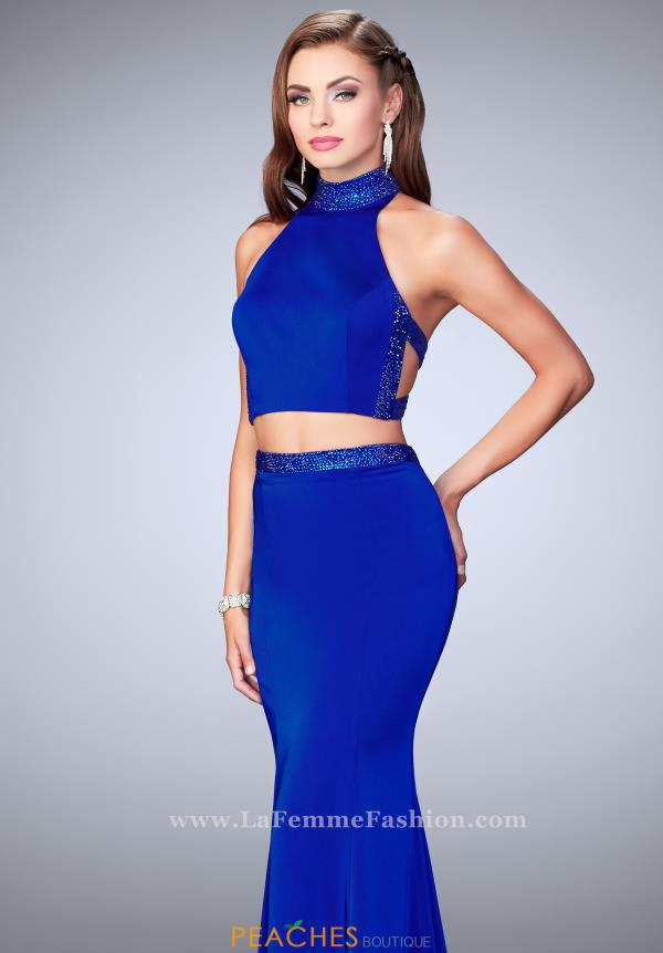 Gigi Two Piece Halter Dress 24119