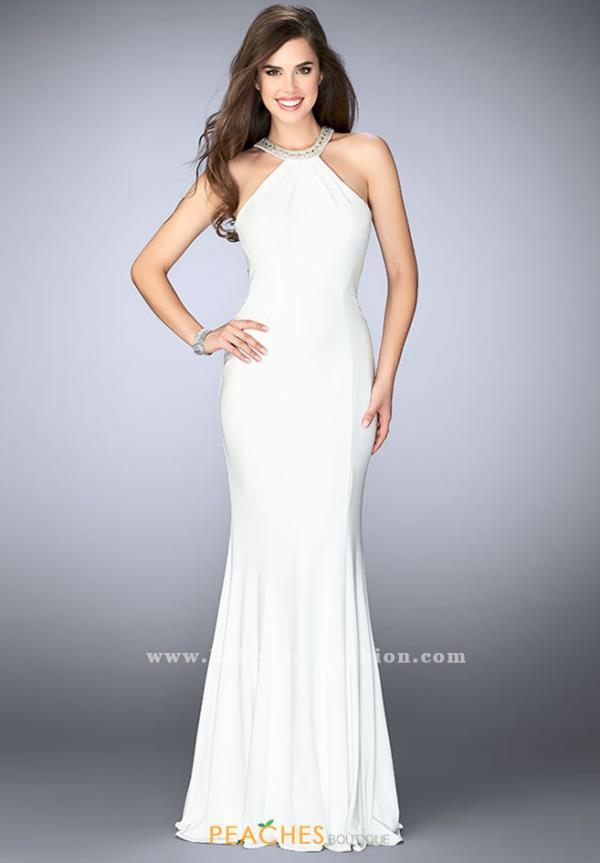 Gigi Halter Long Dress 24199