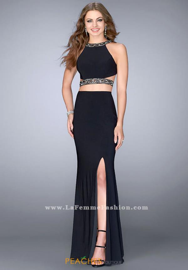 Gigi Beaded Jersey Dress 24414