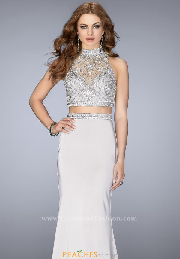 Gigi Long Beaded Dress 24495