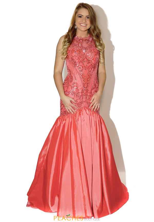 Sherri Hill Taffeta Mermaid Dress 50111