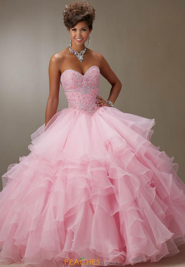 Vizcaya Quinceanera Organza Dress 89061