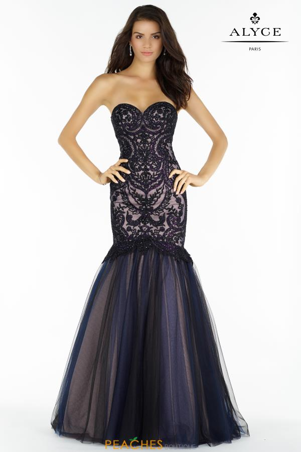 Alyce Paris Mermaid Sweetheart Dress 446752