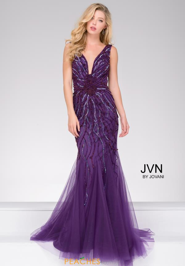 JVN by Jovani Long Beaded Mermaid Dress JVN22495