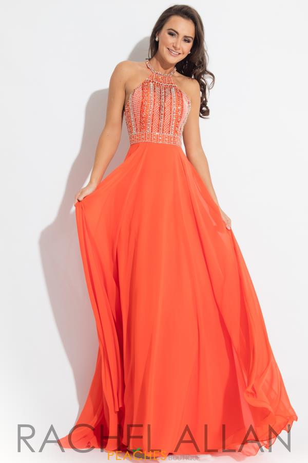 Rachel Allan Princess Long Chiffon Gown 2122