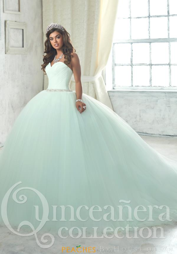 Tiffany Sweetheart Beaded Quince Dress 26849