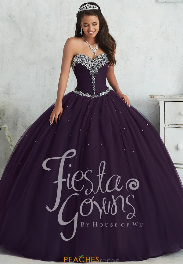 Tiffany Tulle Beaded Quinceanera Dress 56310