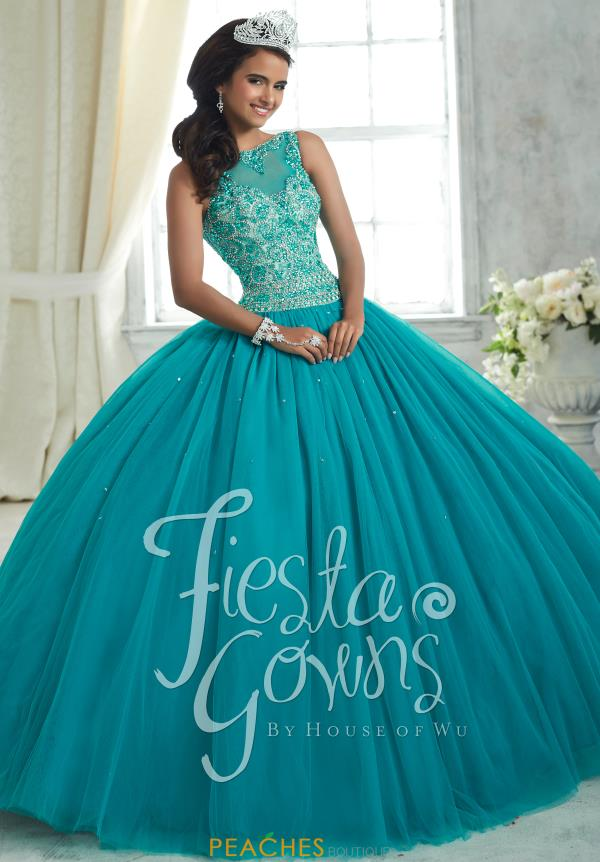 Tiffany Tulle Beaded Quinceanera Dress 56314