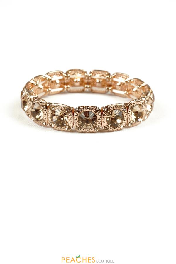 Rose Gold Stretchable Bracelet