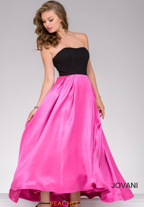 Jovani Strapless Long Dress 24238