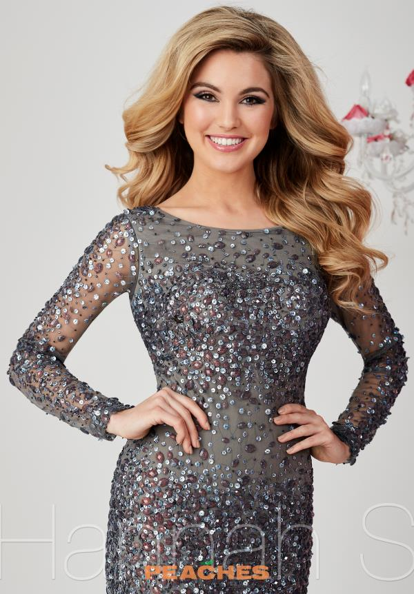 Hannah S Long Sleeved Fitted Dress 27033