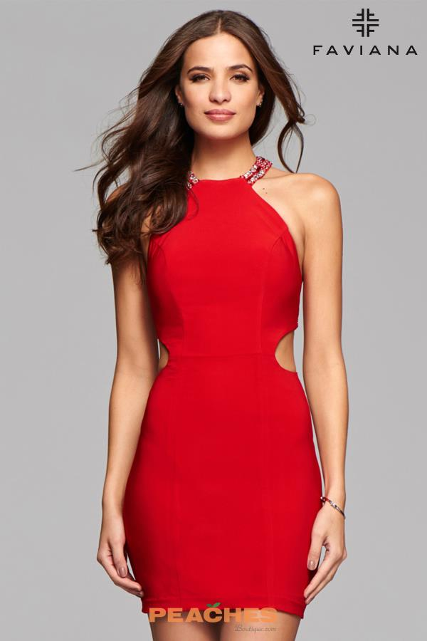 Faviana Sexy Jersey Dress 7867