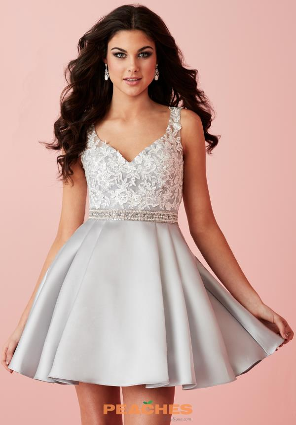 Sweetheart Neckline Beaded Hannah S Dress 27107