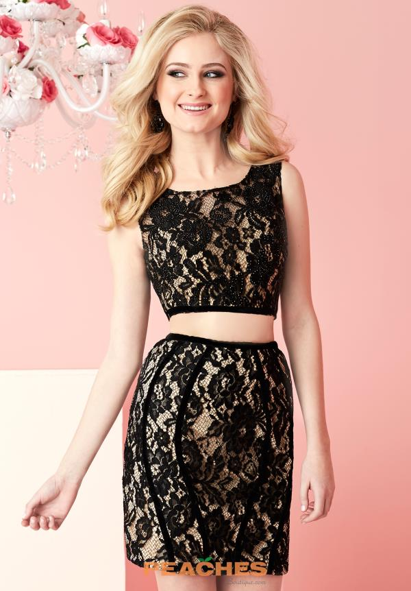Hannah S Lace Two Piece Dress 27121