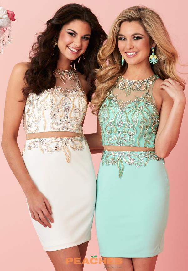 Hannah S Beaded Two Piece Dress 27130