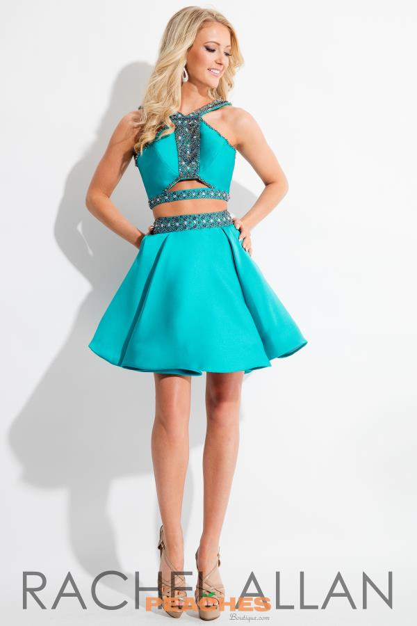 Rachel Allan A Line Two Piece Dress 4271