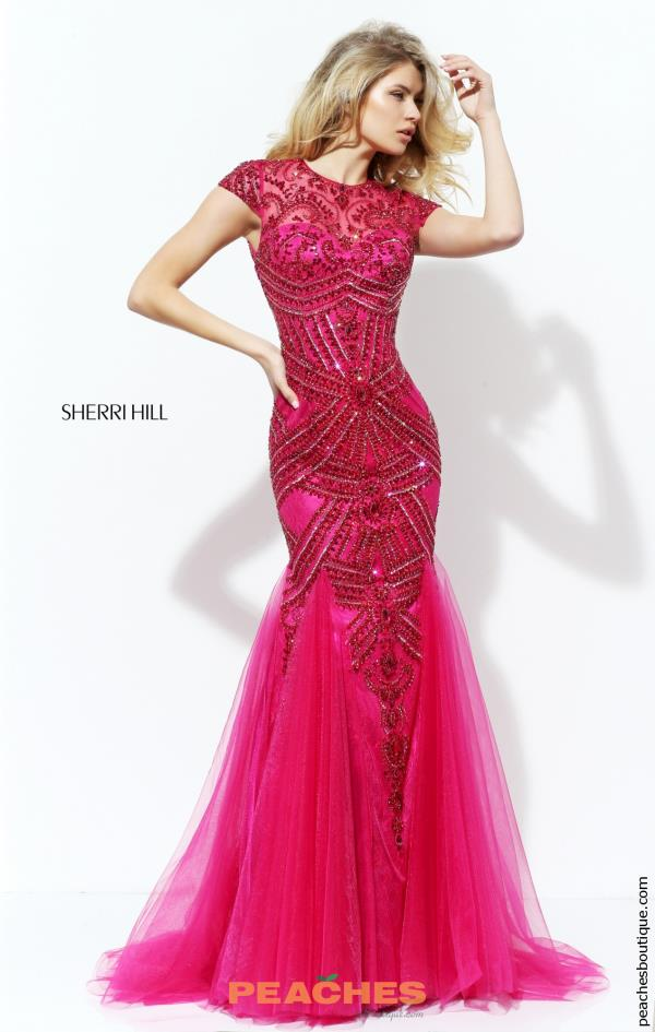 Sherri Hill Beaded Mermaid Dress 50516