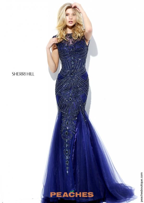 Hill Beaded Mermaid Dress 50516