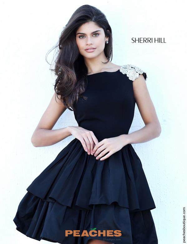 Sherri Hill Short A Line Dress 50712
