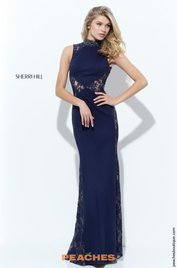 Lace Fitted Sherri Hill Dress 50652