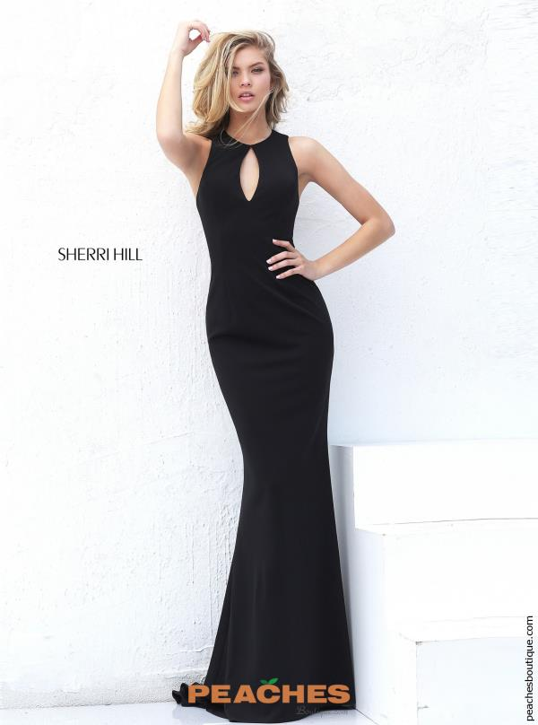 Sexy Open Back Sherri Hill Dress 50752