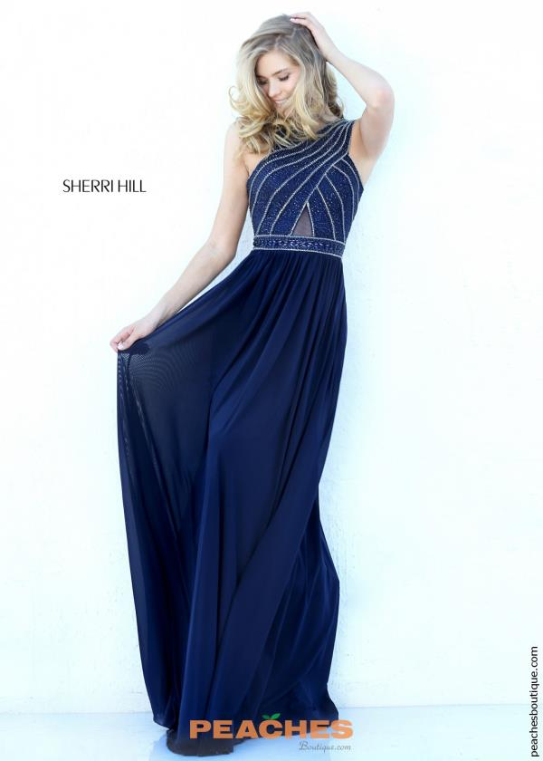 Sherri Hill Long Fitted Dress 50759