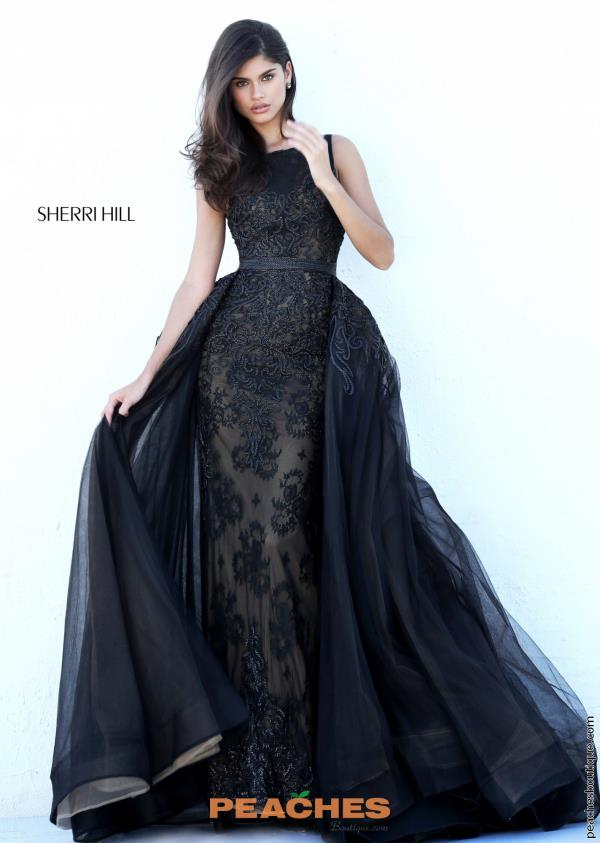 Sherri Hill Long Beaded Dress 50768