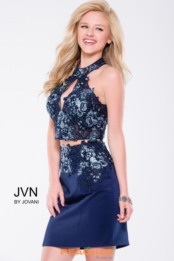 JVN by Jovani Two Piece Beaded Dress JVN41469
