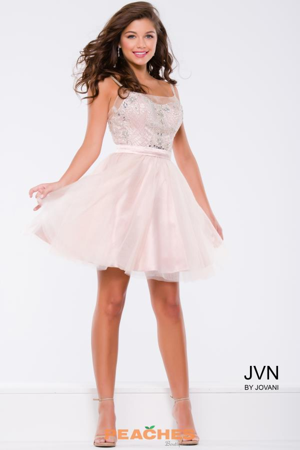 JVN by Jovani A Line Dress JVN41497