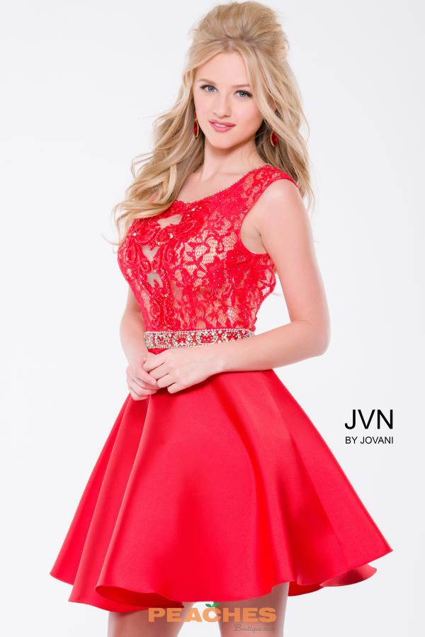 JVN by Jovani Short A Line Dress JVN41672