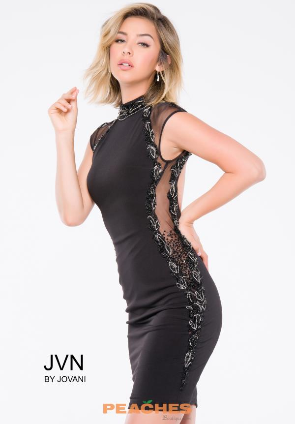 JVN by Jovani Fitted Jersey Dress JVN99095