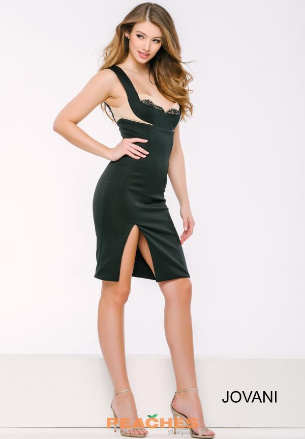 Jovani Cocktail Short Fitted Dress 41841