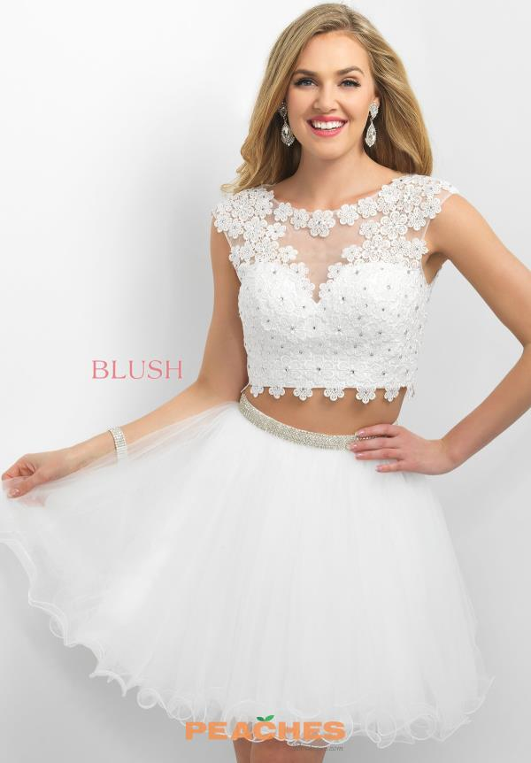 Intrigue by Blush Two Piece Tulle Dress 213