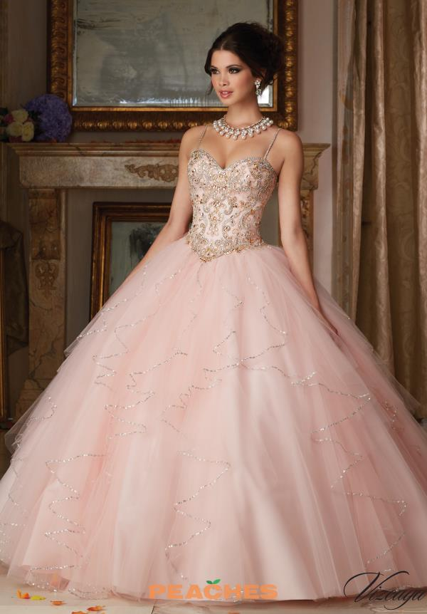 Vizcaya Quinceanera Beaded Ball Gown 89101