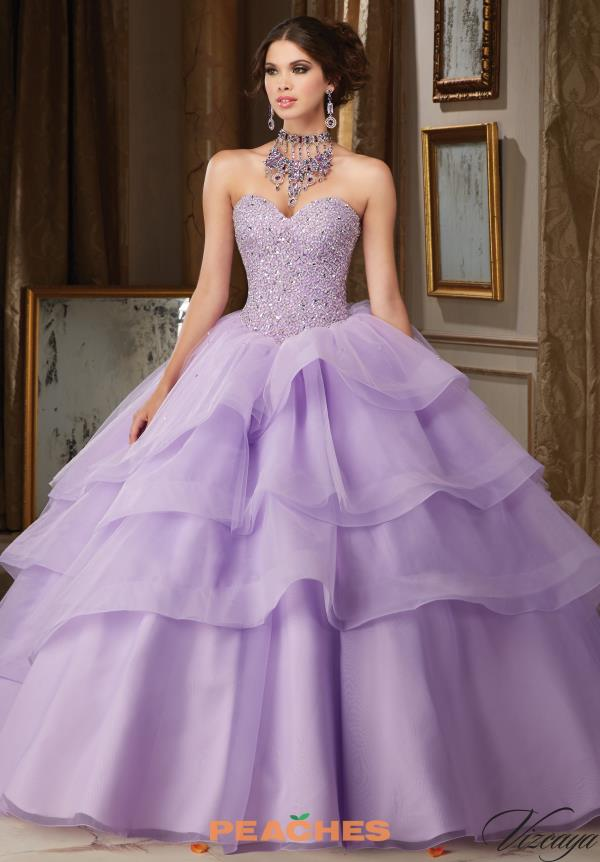 Beaded Sweetheart Neckline Vizcaya Quinceanera Gown 89111