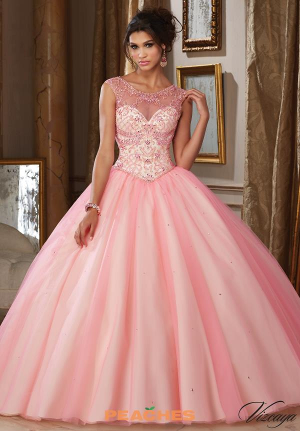 Vizcaya Quinceanera Tulle Skirt Ball Gown 89112