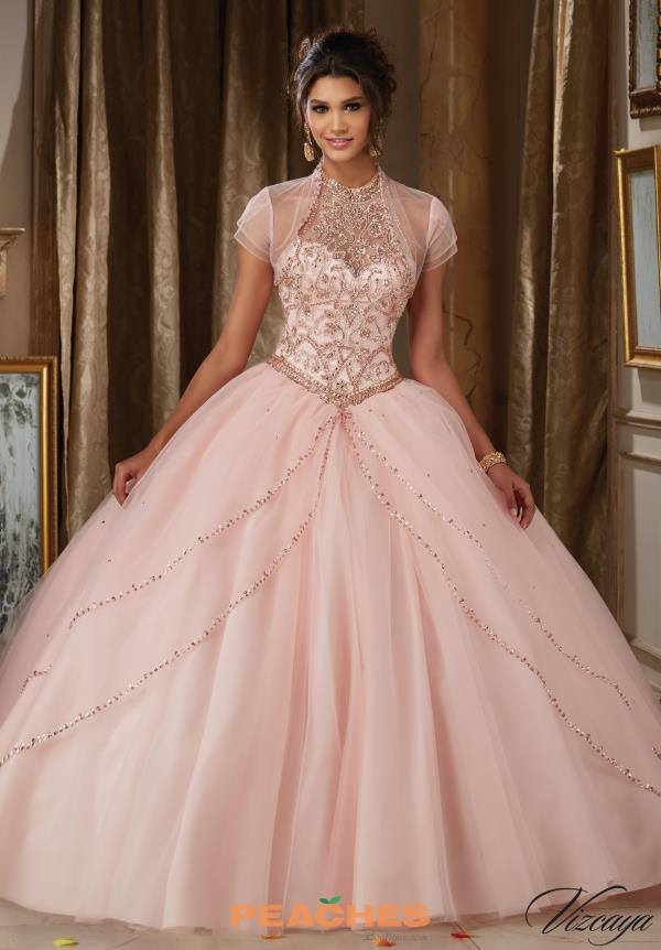 Vizcaya Quinceanera Tulle Skirt Ball Gown 89114