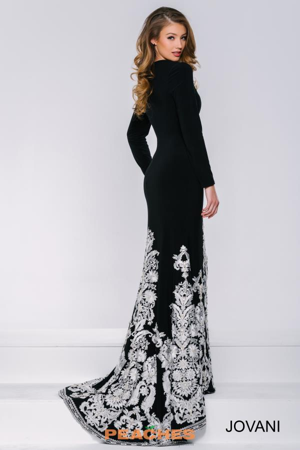 Long Fitted Jovani Dress 33647