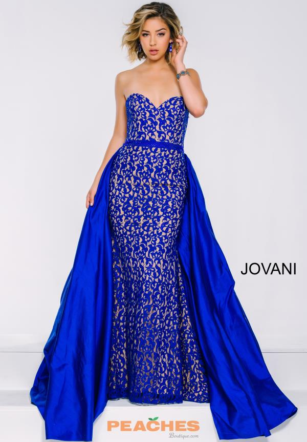 Jovani Fitted Lace Dress 35052