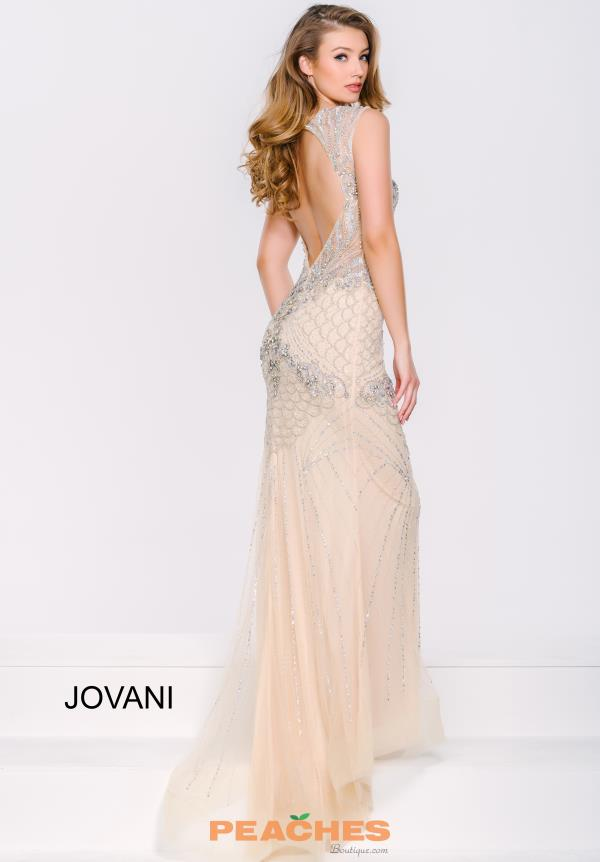 Jovani Open Back fitted Dress 37321