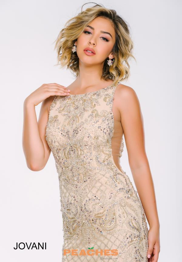 Jovani Long Fitted Dress 37572
