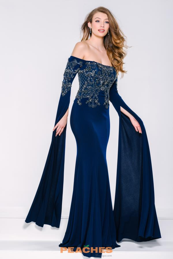 Jovani Long Sleeved Dress 39530