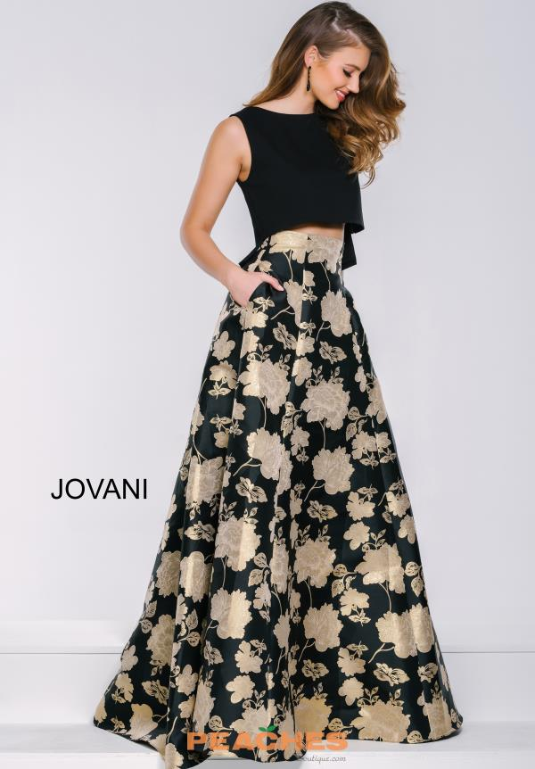 Two Piece A Line Jovani Dress 39728